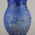 Vase - With cracked dark blue glaze