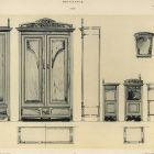 Design sheet - design for bedroom furniture