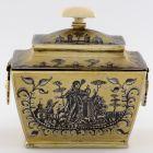 Sugar box with lid