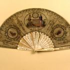 Fan - with the portrait of Emperor Ferdinand I and Archduke Charles