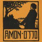 Ex-libris (bookplate) - Ottó Ámon