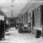 Exhibition photograph - the so-called 'Furniture Room' in the standing exhibition of the Museum of Applied Arts
