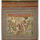 Tapestry - so called Medici tapestry - Playing putti I (putti with ostrich)