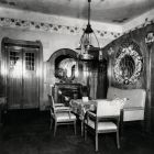 Interior photograph - hallway in Béla Bedő's house (Honvéd str. 3.)