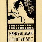 Ex-libris (bookplate) - Aladár Hanny