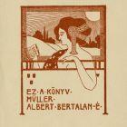 Ex-libris (bookplate) - Albert Bertalan Müller