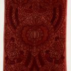 Printed fabric (furnishing fabric) - Royal Burgundy pattern