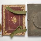 Ornamental album with case