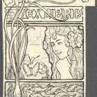 Ex-libris (bookplate) - anonymous