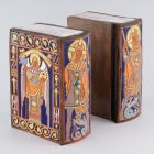 Bookends - book-shaped