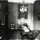Interior photograph - drawing room in the Ráth Villa (Városligeti av. 12.)