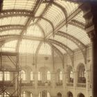 Interior photograph - glass roof of the exhibition hall, Museum of Applied Arts
