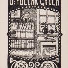 Ex-libris (bookplate) - Gyula Pollák