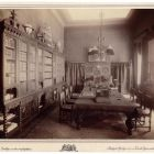Interior photograph - library in the Emmer Palace, Buda