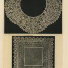 Design sheet - lace collar and handkerchief