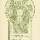 Ex-libris (bookplate) - Paula Kramer