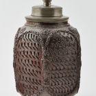 Fűszertartó palack ónfedéllel