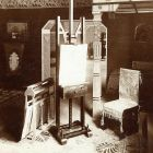 Exhibition photograph - studio, Maecenas' Exhibition 1905
