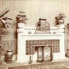 Exhibition photograph - fireplace, Milan Universal Exposition 1906