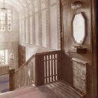 Interior photograph - vestibul in the Lederer Villa (Kmetty str. 31.)