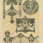 Design sheet - iron works from Berlin