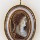 Cameo - with the portrait of Empress Julia Domna