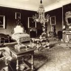 Interior photograph - bedroom in the Pálffy Palace of Királyfa