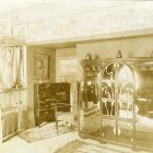 Exhibition photograph - book cupboard, Maecenas' Exhibition 1905