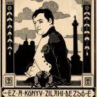 Ex-libris (bookplate) - Dezső Zilahi