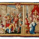 Tapestry - Scenes from the life of Saint Bernard I.