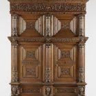 Two-storey cabinet with four doors - Beeldenkast