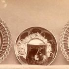 Exhibition photograph - porcelain coffee cups, Christmas Exhibition of the Association of Applied Arts 1901