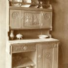 Exhibition photograph - sideboard--part of dining room suite, Milan Universal Exposition 1906
