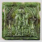 Stove tile - with the figure of Hercules (?)