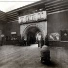 Interior photograph - grand room, Hungarian Pavilion in Venice