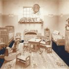 Exhibition photograph - children's room, Spring Exhibition of The Association of Applied Arts 1907