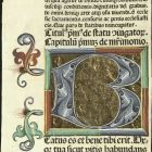 Incunable fragment