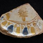 Fragment of the bottom of a plate