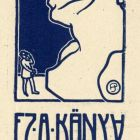 Ex-libris (bookplate) - Lajos Berán
