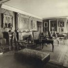 Interior photograph - parlor in the Pálffy Palace in Pozsony