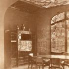 Interior photograph - dining hall in the Andrássy Castle, Tiszadob