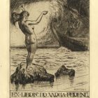 Ex-libris (bookplate) - Ferenc Varga