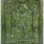 Stove tile - with the figure of Alexander the Great