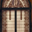 Photograph - stained glass window in the Palace of the First National Savings Bank (Váci str. 1.)