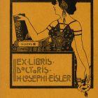 Ex-libris (bookplate) - József Eisler