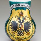 Jug - with the Imperial Coat of Arms of the Empire of Austria
