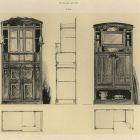 Design sheet - design for dining room furniture