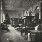 Interior photograph - rearrangement of the furniture storage of the Museum of Applied Arts