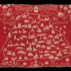 Printed fabric (furnishing fabric) - The historic Transylvania