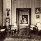 Interior photograph - salons in the Pálffy Palace of Királyfa